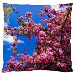 PINK FLOWERS Large Cushion Cases (Two Sides)