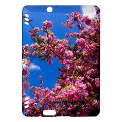 PINK FLOWERS Kindle Fire HDX Hardshell Case