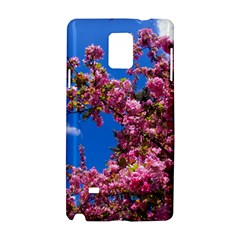 PINK FLOWERS Samsung Galaxy Note 4 Hardshell Case