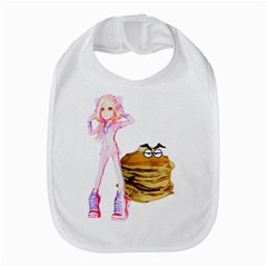MAL GIRL AND MR PANCAKE Bib
