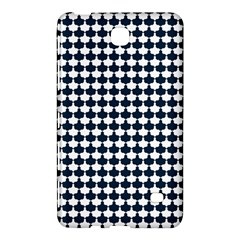 Navy And White Scallop Repeat Pattern Samsung Galaxy Tab 4 (7 ) Hardshell Case