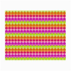 Scallop Pattern Repeat In 'la' Bright Colors Small Glasses Cloth (2-Side)