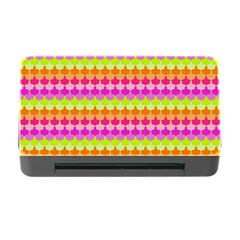 Scallop Pattern Repeat In 'la' Bright Colors Memory Card Reader with CF