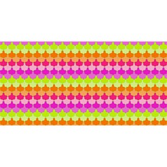 Scallop Pattern Repeat In 'la' Bright Colors YOU ARE INVITED 3D Greeting Card (8x4)