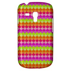 Scallop Pattern Repeat In 'la' Bright Colors Samsung Galaxy S3 MINI I8190 Hardshell Case