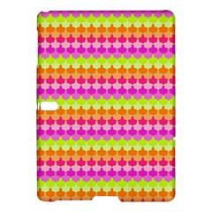 Scallop Pattern Repeat In 'la' Bright Colors Samsung Galaxy Tab S (10.5 ) Hardshell Case