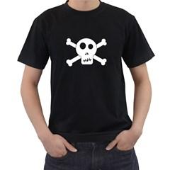 Skull & Crossbones Men s T Shirt (black)