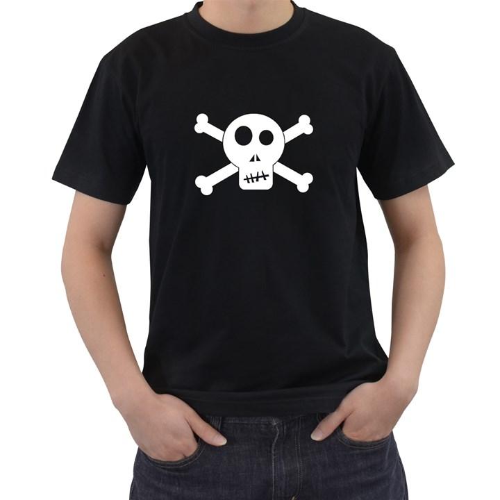 Skull & Crossbones Men s T-Shirt (Black)