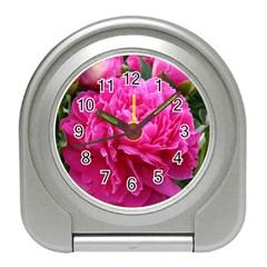 PAEONIA ELEANOR Travel Alarm Clocks