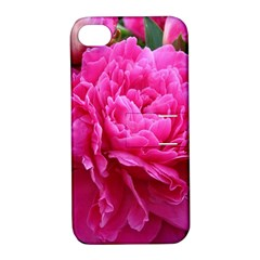 PAEONIA ELEANOR Apple iPhone 4/4S Hardshell Case with Stand