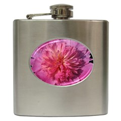 PAEONIA CORAL Hip Flask (6 oz)