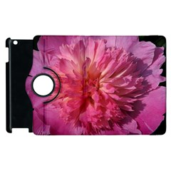 PAEONIA CORAL Apple iPad 3/4 Flip 360 Case
