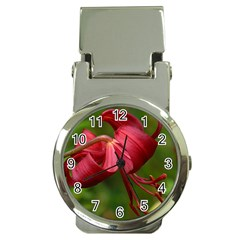 LILIUM RED VELVET Money Clip Watches