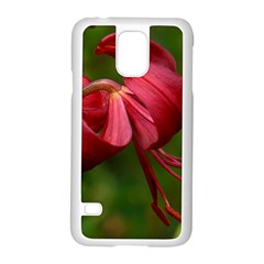 LILIUM RED VELVET Samsung Galaxy S5 Case (White)