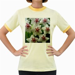 HOYABELLA Women s Fitted Ringer T-Shirts