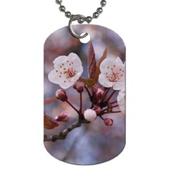 CHERRY BLOSSOMS Dog Tag (Two Sides)
