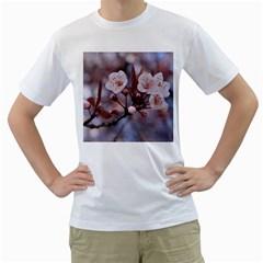 CHERRY BLOSSOMS Men s T-Shirt (White)