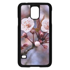 Cherry Blossoms Samsung Galaxy S5 Case (black)
