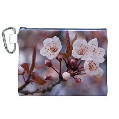 CHERRY BLOSSOMS Canvas Cosmetic Bag (XL)