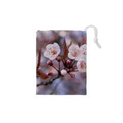 CHERRY BLOSSOMS Drawstring Pouches (XS)