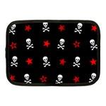 Stars, Skulls & Crossbones Netbook Case (Medium)  Front