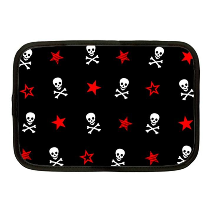 Stars, Skulls & Crossbones Netbook Case (Medium)