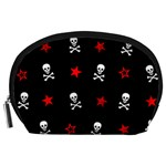 Stars, Skulls & Crossbones Accessory Pouches (Large)  Front