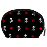 Stars, Skulls & Crossbones Accessory Pouches (Large)  Back