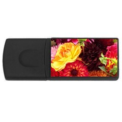 BUNCH OF FLOWERS USB Flash Drive Rectangular (2 GB)