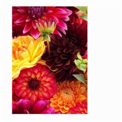 Bunch Of Flowers Large Garden Flag (two Sides)