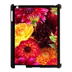 BUNCH OF FLOWERS Apple iPad 3/4 Case (Black)