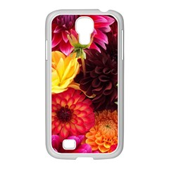 BUNCH OF FLOWERS Samsung GALAXY S4 I9500/ I9505 Case (White)