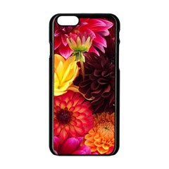 BUNCH OF FLOWERS Apple iPhone 6/6S Black Enamel Case