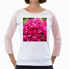 Bougainvillea Girly Raglans