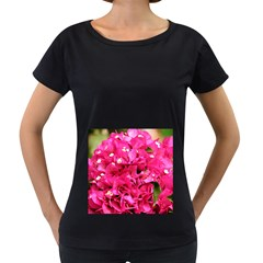 BOUGAINVILLEA Women s Loose-Fit T-Shirt (Black)