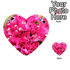 BOUGAINVILLEA Playing Cards 54 (Heart)