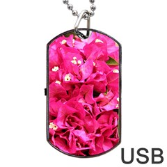 BOUGAINVILLEA Dog Tag USB Flash (Two Sides)