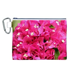BOUGAINVILLEA Canvas Cosmetic Bag (L)
