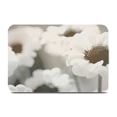 Black And White Flower Plate Mats