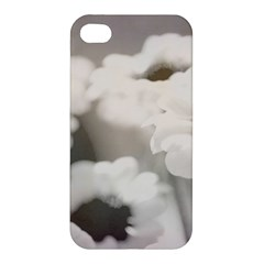 BLACK AND WHITE FLOWER Apple iPhone 4/4S Hardshell Case