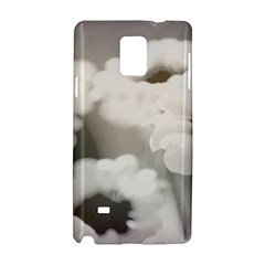 BLACK AND WHITE FLOWER Samsung Galaxy Note 4 Hardshell Case