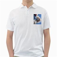 APRICOT BLOSSOMS Golf Shirts