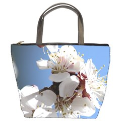 APRICOT BLOSSOMS Bucket Bags
