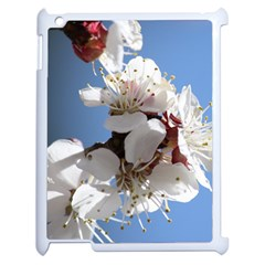 APRICOT BLOSSOMS Apple iPad 2 Case (White)