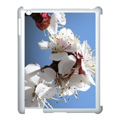 APRICOT BLOSSOMS Apple iPad 3/4 Case (White)