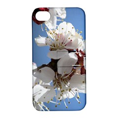 APRICOT BLOSSOMS Apple iPhone 4/4S Hardshell Case with Stand