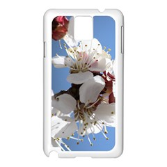 APRICOT BLOSSOMS Samsung Galaxy Note 3 N9005 Case (White)