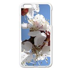 APRICOT BLOSSOMS Apple iPhone 6 Plus/6S Plus Enamel White Case