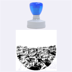 Yuanyang County Rubber Round Stamps (large)