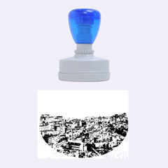 Yuanyang County Rubber Oval Stamps